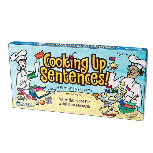 Learning Resources Cooking Up Sentences Game