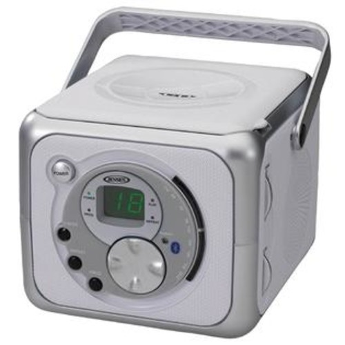 Jensen Products Portable Bluetooth Music System with CD Player