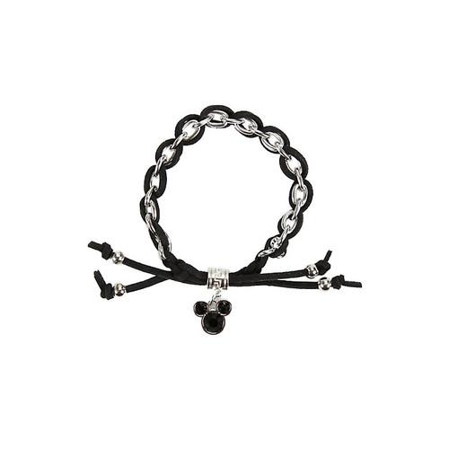 Disney Mickey Mouse Charm Cord Bracelet