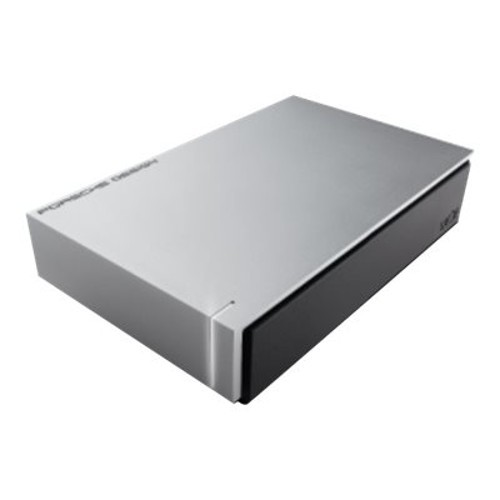 LaCie Porsche Design 4TB Desktop Drive  External, Designed For MAC, USB 3.0, Up to 5Gb/s, 5mm Aluminum Casing, Password Protection, Automatic Backup - STEW4000400