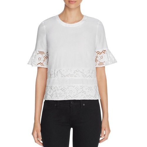 BURBERRY Ambrosia Lace Panel Top