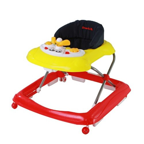 Dream On Me Scout Musical Walker and Activity Center, Red [Red]