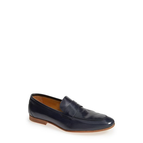 'Acacia' Penny Loafer (Men) [Width : D]