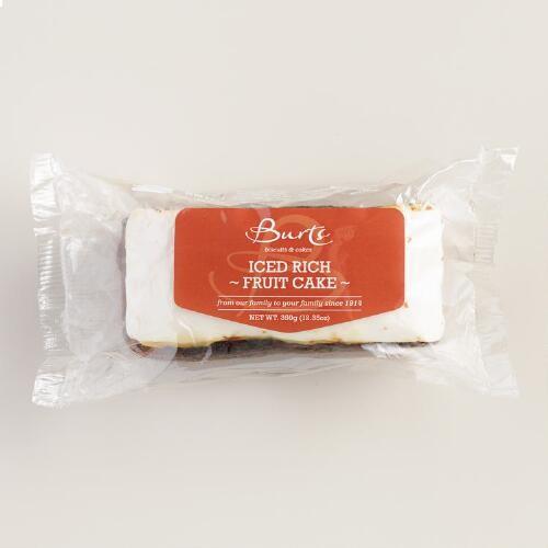 Burts Iced Rich Fruitcake