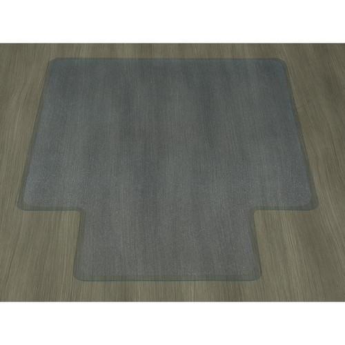 Ottomanson Hard Floor Clear 36 in. x 48 in. with Lip Vinyl Chair Mat