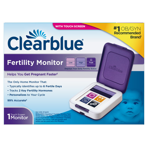 Clearblue Fertility Monitor, Touch Screen, 1 count