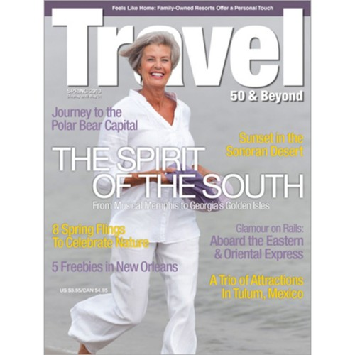 Travel 50 & Beyond 1 Year Magazine Subscription