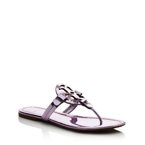 Miller Metallic Thong Sandals