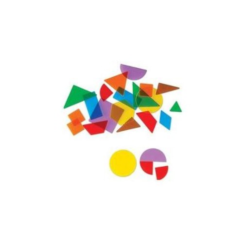 Learning Resources LER1766 Translucent Geometric Shapes