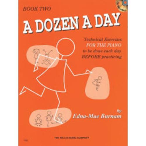 A Dozen a Day Book 2 - Book/CD Pack