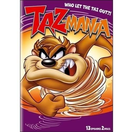 Taz-Mania: Who Let the Taz Out?! - Season 1, Part 2 [2 Discs] [DVD]