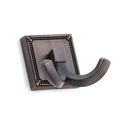 Richelieu Hardware 2-1/4 in. (57 mm) Brushed Oil-Rubbed Bronze Decorative Hook