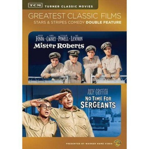 TCM Greatest Classic Films: Stars & Stripes Comedy - Mister Roberts/No Time for Sergeants [2 Discs]