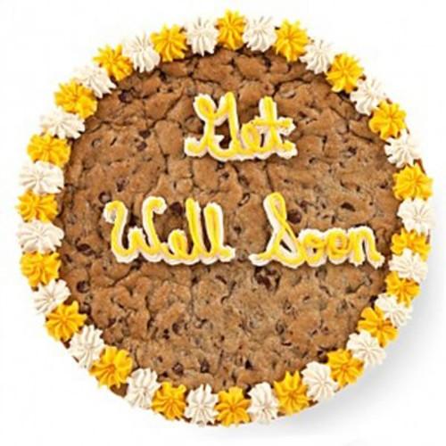 Mrs. Fields Get Well Soon Cookie Cake