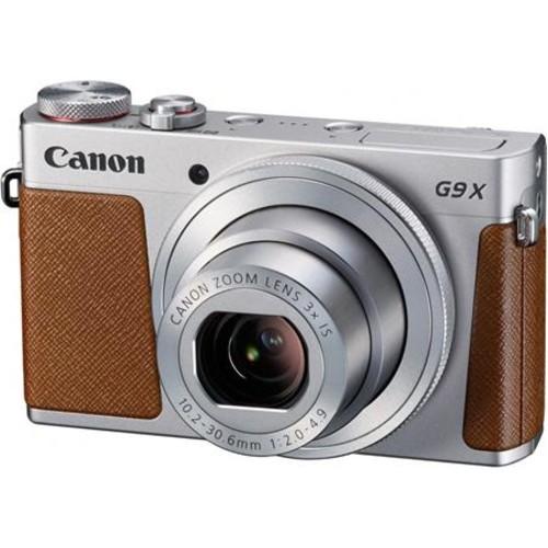 Canon PowerShot G9 X Digital Camera, Silver 0924C001
