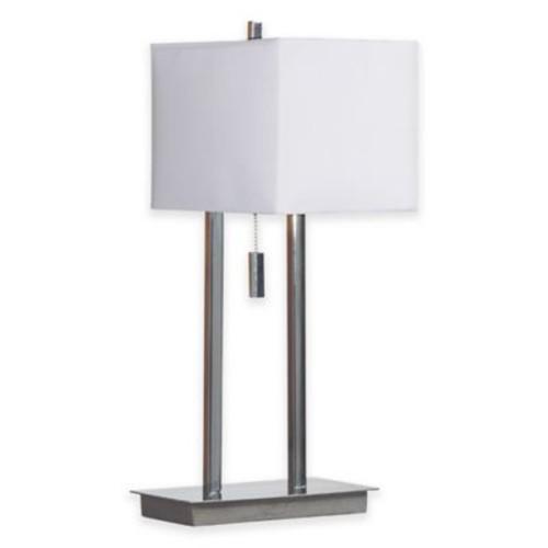 Kenroy Home Emilio 1-Light Desk Lamp in Chrome