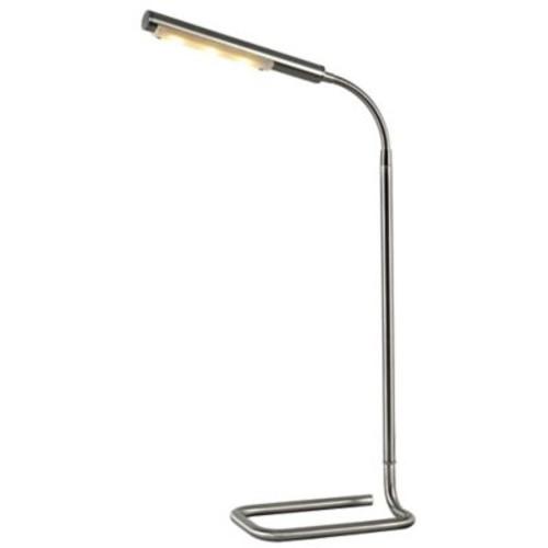Kenroy Home Slither LED Desk Lamp in Brushed Steel
