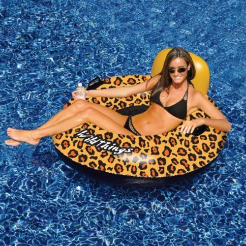 Swimline Wildthings 40-in Cheetah Inflatable Pool Float