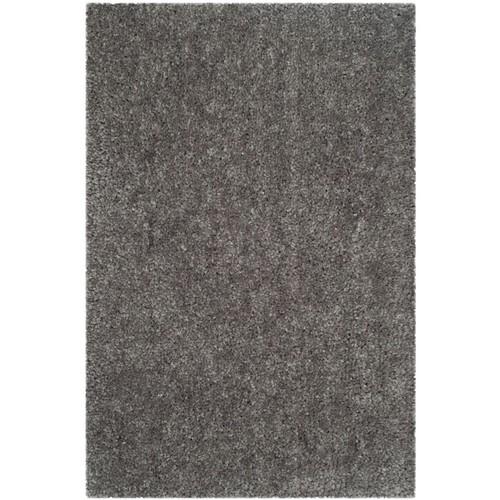Safavieh Popcorn Shag Rectangle Area Rug, 4' x 6', Silver
