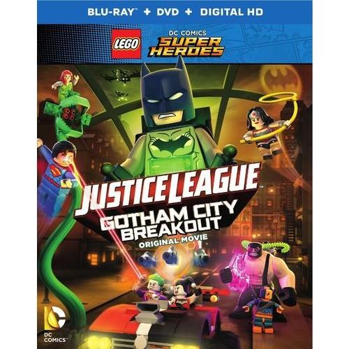 LEGO DC Comics Super Heroes: Justice League - Gotham City Breakout [Blu-ray] [2 Discs]