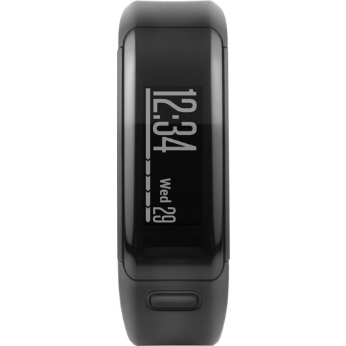 Garmin - Vivosmart HR Activity Tracker + Heart Rate Extra Large - Black