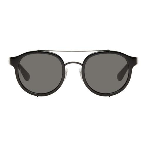 DOLCE & GABBANA Black Top Bar Sunglasses