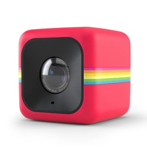 CUBE+ Lifestyle Action Camera (Red)