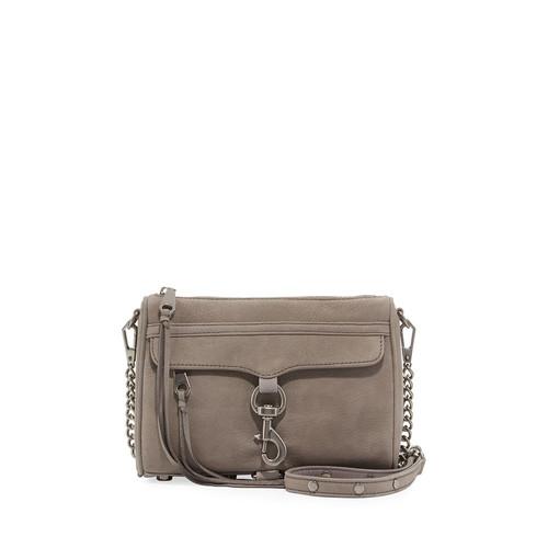 Mini MAC Nubuck Crossbody Bag