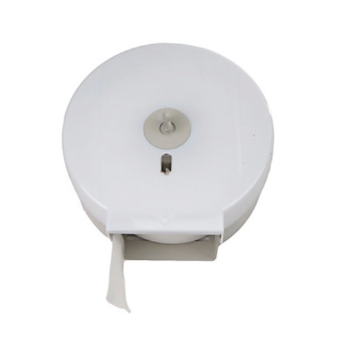 Mind Reader Wall-Mounted Bathroom Tissue Dispenser, White