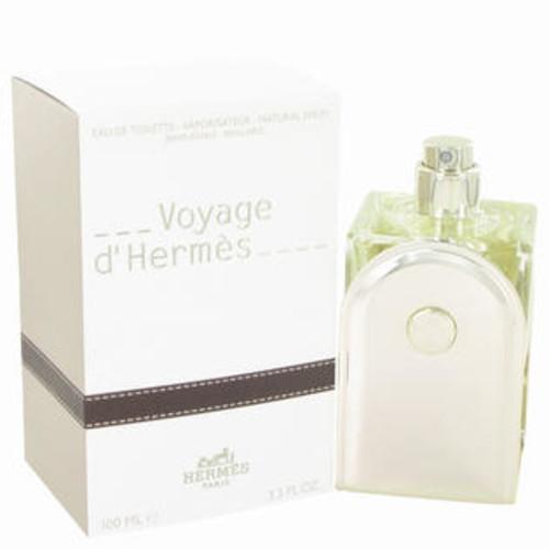 Hermes Voyage DHermes by Hermes Men Eau De Toilette Spray Refillable 33 oz