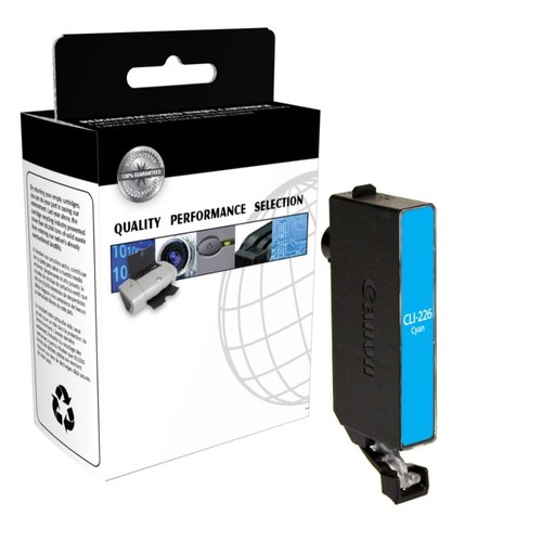CTG CTGCLI226C (Canon CLI-226 / 4547B001) Remanufactured Cyan Ink Cartridge