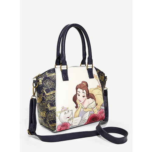 Loungefly Disney Beauty And The Beast Belle Reading Satchel