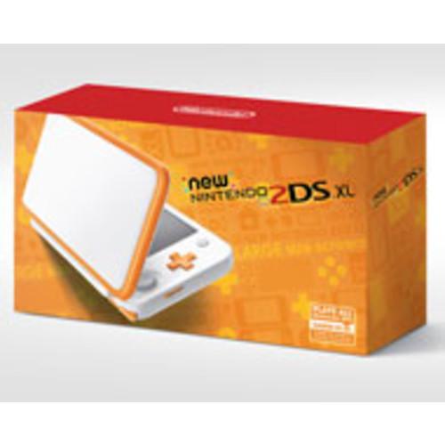 Nintendo 2DS XL - White and Orange