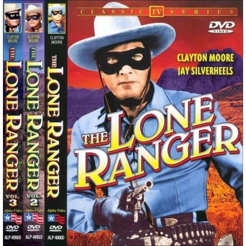 Lone ranger:Vols 1-3 (DVD)
