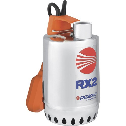 Pedrollo Submersible Stainless Steel Utility Pump  3480 GPH, 1/2 HP, 1 1/4in. Port, Single Phase, Model# RXm2
