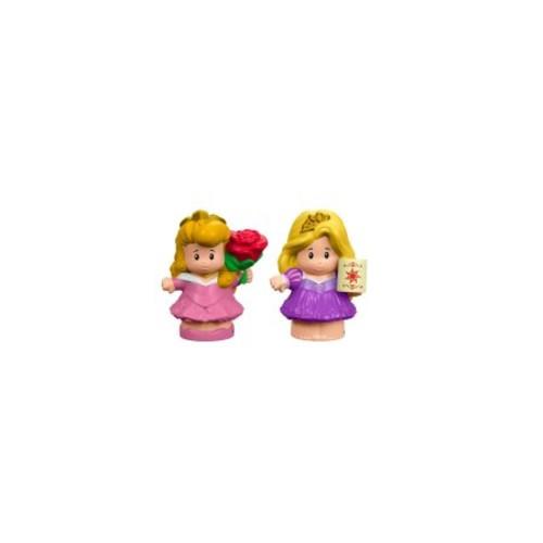 Disney Princess Aurora & Rapunzel By Little People