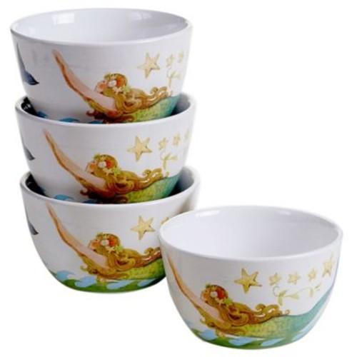 Certified International Sea Beauty Ice Cream Bowl (Set of 4)