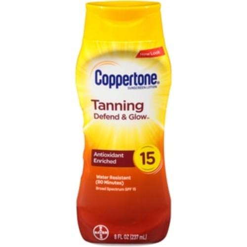 Coppertone Tanning Lotion SPF 15 - 8 oz