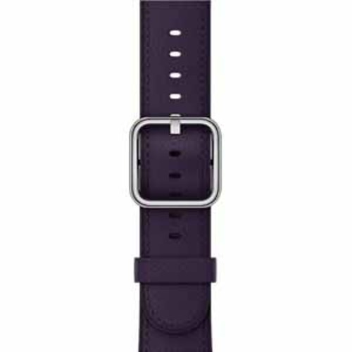 Apple Classic Buckle Band for 42mm Watch - Dark Aubergine
