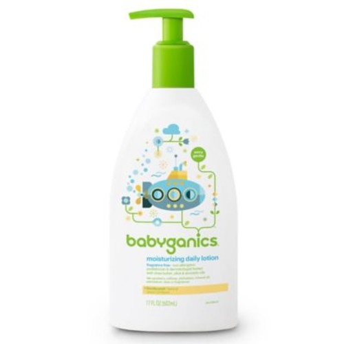 Babyganics 17 oz. Fragrance-Free Moisturizing Daily Lotion