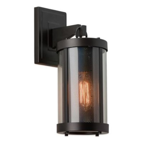 Feiss Bluffton 1-Light Wall-Mount Outdoor Bracket in Oil Rubbed Bronze