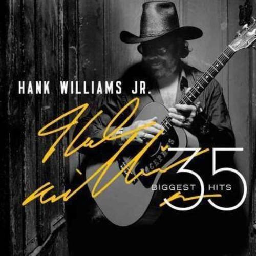 Hank jr. williams - 35 biggest hits (CD)