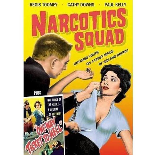 Narcotics Squad/One Way Ticket To Hell [DVD]