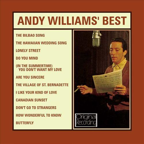 Andy Williams' Best [CD]