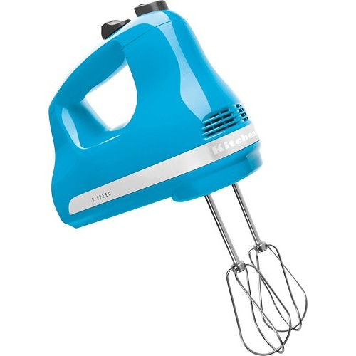 KitchenAid - KHM512CL 5-Speed Hand Mixer - Crystal Blue