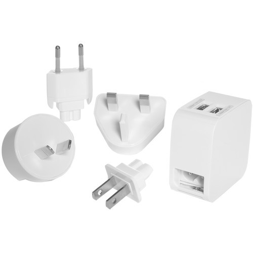 Dual USB Charger & Adapter Plug Set