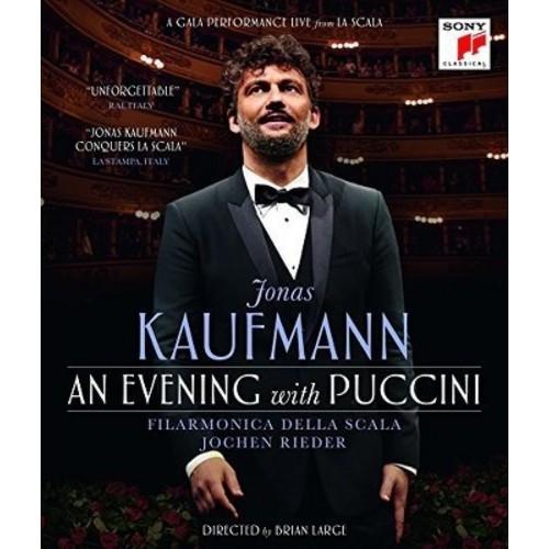 Jonas Kaufmann/Filamonica Della Scala: An Evening with Puccini [Blu-ray] [Eng/Ita] [2015]