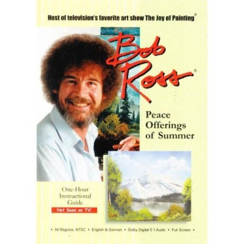 Bob Ross the Joy of Painting: Peace Offerings of Summer [DVD]