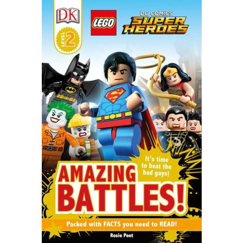 LEGO DC Comics Super Heroes: Amazing Battles! (Turtleback School & Library Binding Edition)