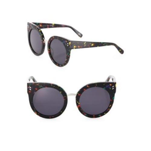 STELLA MCCARTNEY 51Mm Multicolor Cat Eye Sunglasses